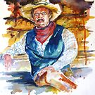 Sun Dried Cowboy by twopoots