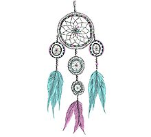 Tumblr Dreamcatcher Photographic Print