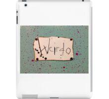 Weirdo iPad Case/Skin