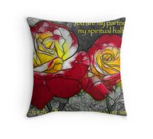 My Partner - Roses Throw Pillow