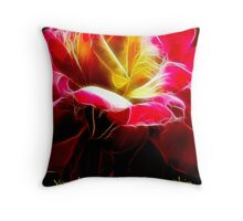 Your Beauty Glows Throw Pillow
