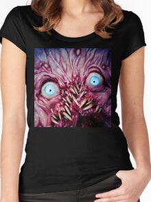 fangtooth 2 Women's Fitted Scoop T-Shirt