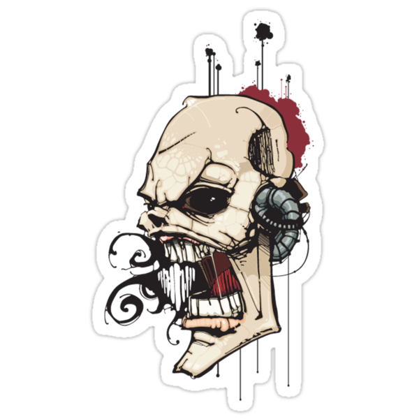 Skull by ArtBlast