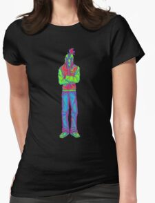 Neon Jacket Womens Fitted T-Shirt