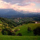 view from pestera by Marian Enache