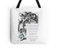 Cheshire Direction Tote Bag