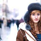 La fille du froid en couleur by Etienne RUGGERI Artwork eRAW