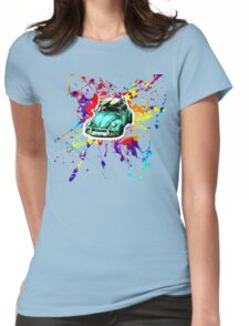 surfing t-shirt Womens Fitted T-Shirt