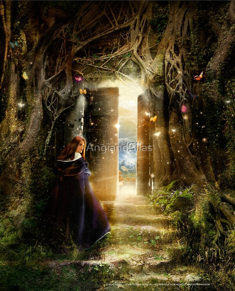 """""""A Knock at the Door"""" - Illustration by AngiandSilas"""