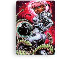 SPACE BABE 1 Canvas Print