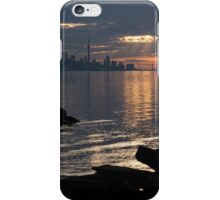 Good Morning, Toronto - the Skyline From Across Humber Bay iPhone Case/Skin