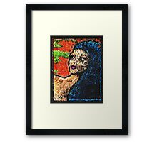 Watch The World Play Its Part Framed Print