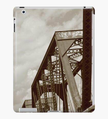 Sepia railroad iPad Case/Skin