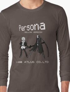 Persona Yellow Version Long Sleeve T-Shirt