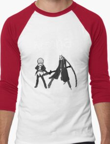 Persona Yellow Version Men's Baseball ¾ T-Shirt