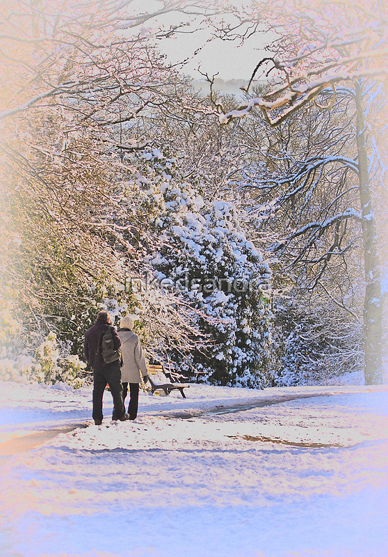 A walk in the park by inkedsandra