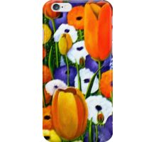 Spring Explosion  acrylic painting iPhone Case/Skin