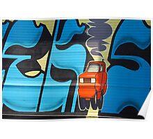 Urban Art: 404 McGuinness Blvd  Poster