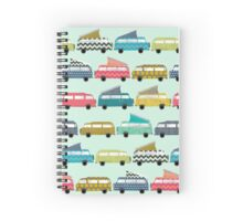 geo campers mint Spiral Notebook