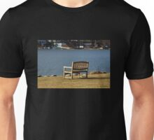 A Bench with a View Unisex T-Shirt