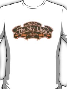 BioShock Infinite – The Sky-Lines of Columbia Sign T-Shirt