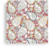 book paisley Canvas Print