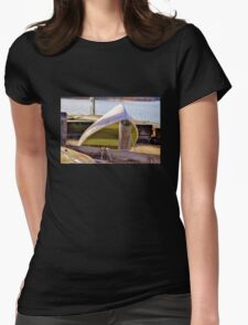 Chartreuse Boat Womens Fitted T-Shirt