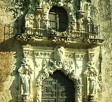 San Jose Mission in San Antonio, Texas by Susan Russell