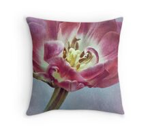 ~ textured tulip ~ Throw Pillow