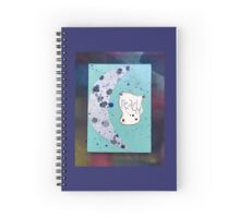 Reach for the Moon Spiral Notebook