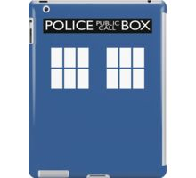 Police Public Call Box Tardis iPad Case/Skin