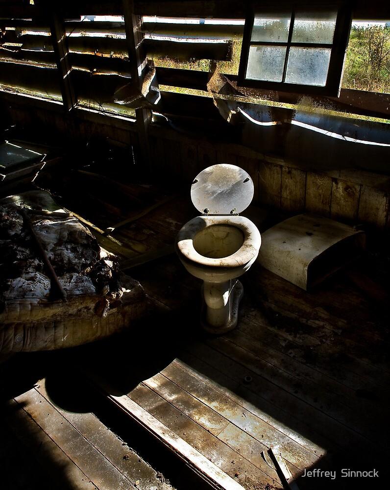 old Toilet by Jeffrey  Sinnock