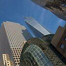 Manhattan Geometry - a Vertical View by Georgia Mizuleva