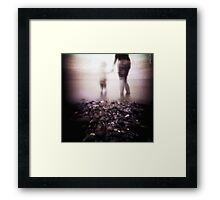 Sharing the Moment Framed Print