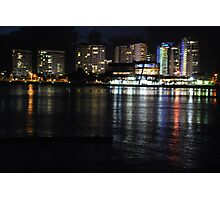 Tweed Heads at night Photographic Print