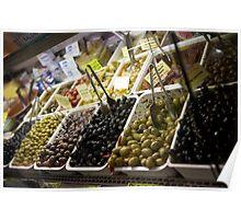 Olive Market Poster