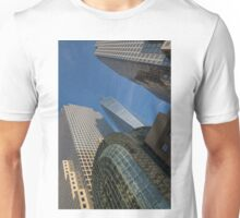 Manhattan Geometry - a Vertical View Unisex T-Shirt