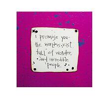 I Promise You #4 by PoetJenHarris