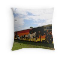 Grafitti a la mode (or how it should be done) Throw Pillow