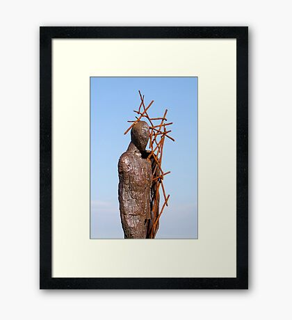 Metal Sculpture Framed Print