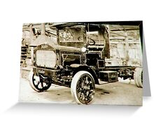 1915 Kleiber Truck Greeting Card