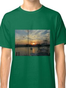 Sunset in Georgetown, SC Classic T-Shirt