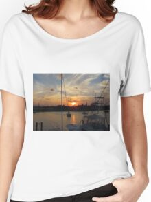 Sunset in Georgetown, SC Women's Relaxed Fit T-Shirt