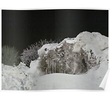 Snow Cave In the Nite Poster