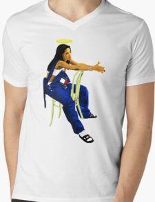 Aaliyah Mens V-Neck T-Shirt
