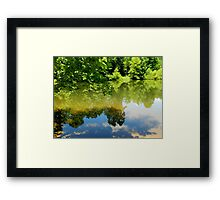 Country Reflections Framed Print