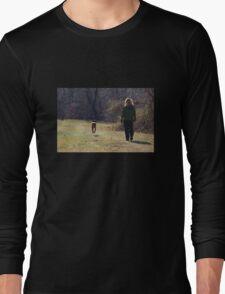 Walking the Dog Long Sleeve T-Shirt