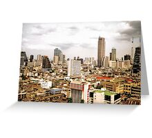 Bangkok Skyline Greeting Card