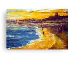 original oil painting Canvas Print
