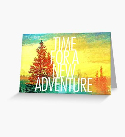 New Adventure Greeting Card